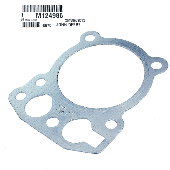 John Deere #M124986 Engine Cylinder Head Gasket