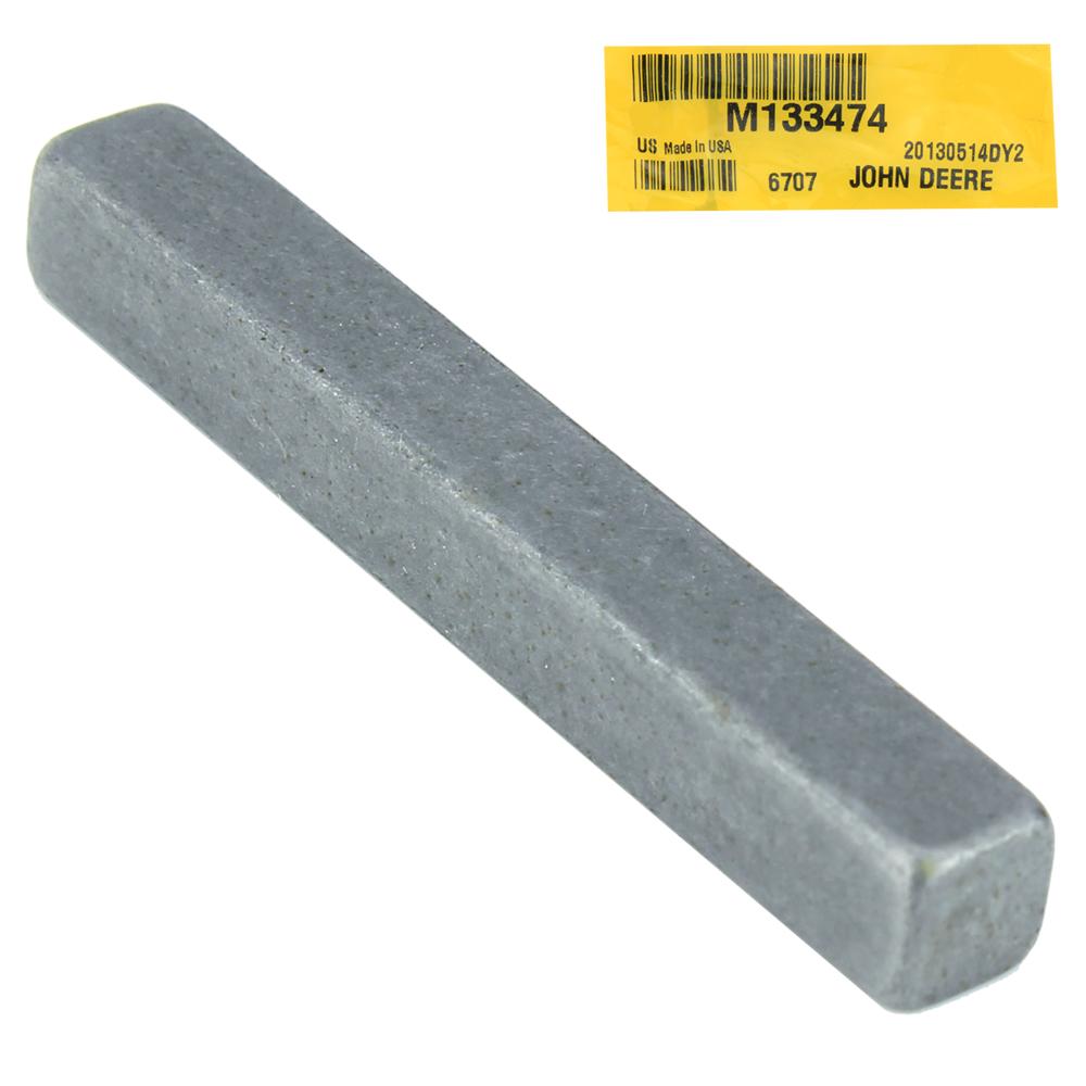 John Deere #M133474 Shaft Key