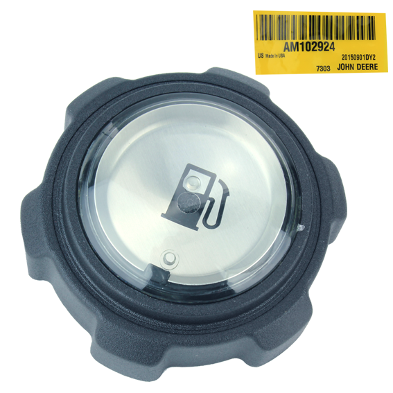 JOHN DEERE #AM102924 FUEL TANK CAP