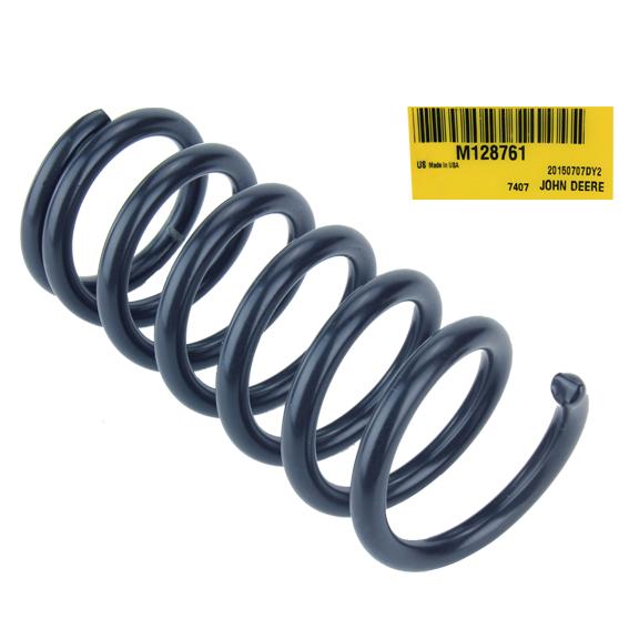John Deere #M128761 Seat Compression Spring
