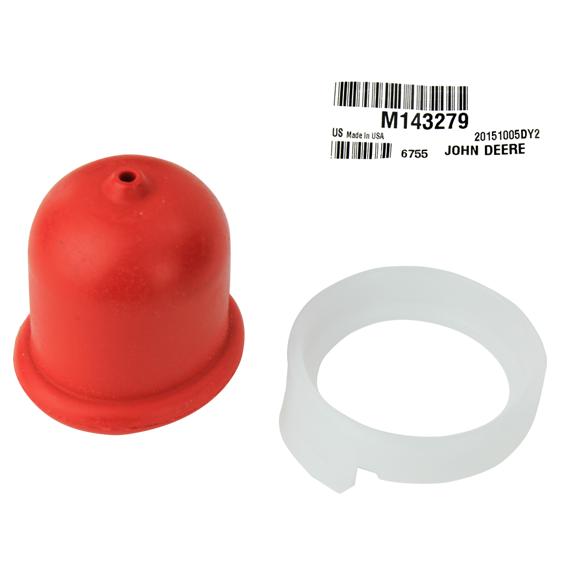 John Deere #M143279 Fuel Primer Bulb