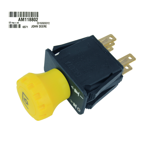 JOHN DEERE #AM118802 PTO SWITCH