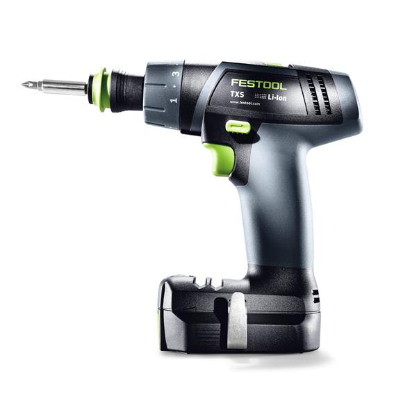Festool 576107 Cordless Drill TXS 2.6-Set