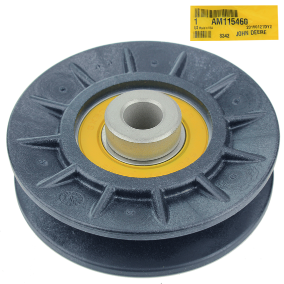 JOHN DEERE #AM115460 V-IDLER PULLEY