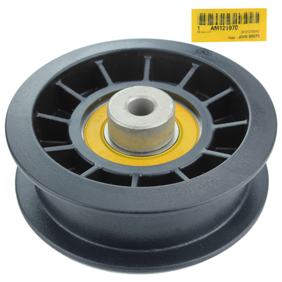 JOHN DEERE #AM121970 IDLER PULLEY