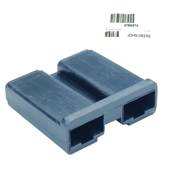 JOHN DEERE #57M8574 ELECTRICAL CONNECTOR HOUSING