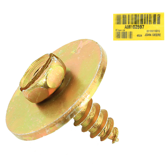 JOHN DEERE #AM102597 SCREW WITH WASHER