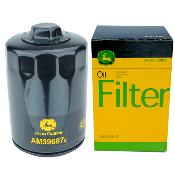 John Deere #AM39687 Oil Filter