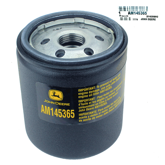JOHN DEERE #AM145365 OIL FILTER