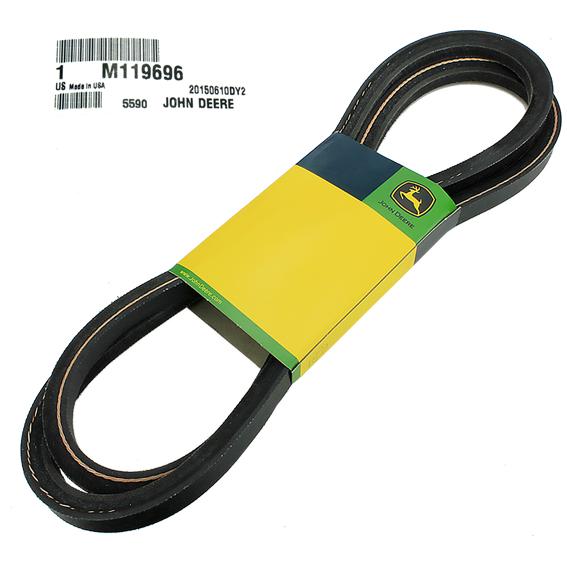John Deere Belts : John deere belts m primary deck drive belt