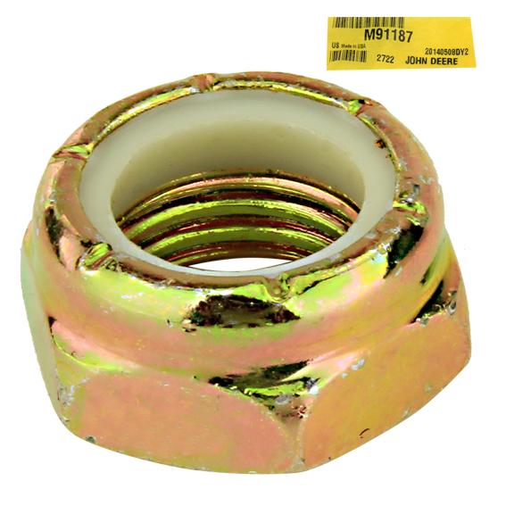 John Deere #M91187 Lock Nut