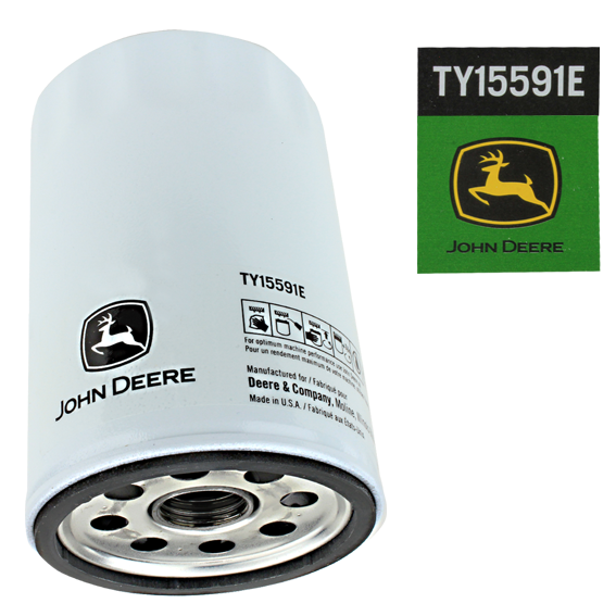 John Deere #TY15591E Oil Filter
