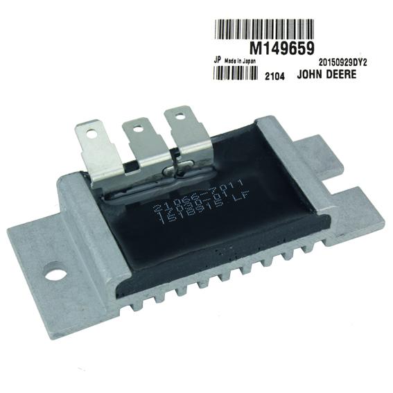 JOHN DEERE #M149659 VOLTAGE REGULATOR