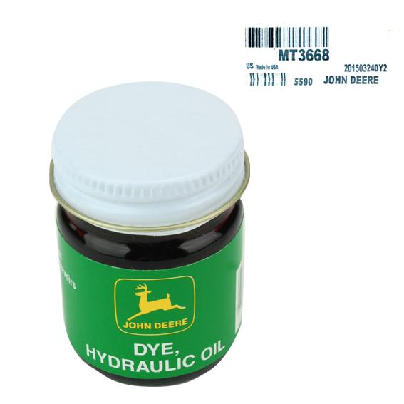 John Deere Lubricants - John Deere #MT3668 Hydraulic Oil Dye