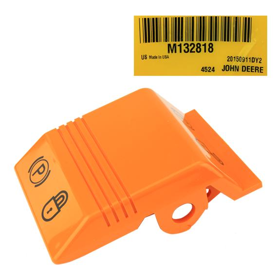 John Deere #M132818 Parking Brake Handle