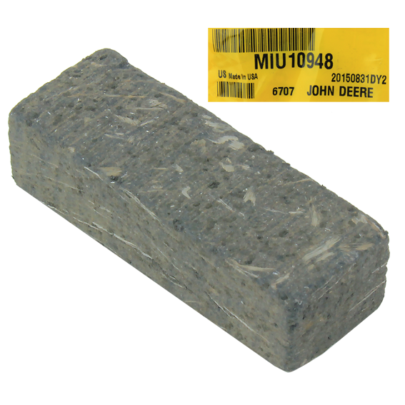 John Deere #MIU10948 Brake Shoe Friction Puck