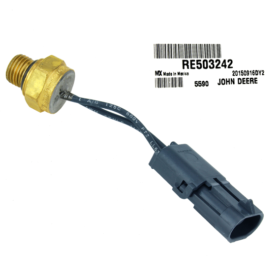 JOHN DEERE #RE503242 TEMPERATURE SWITCH