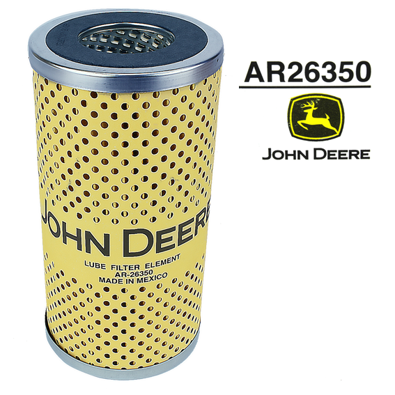 JOHN DEERE #AR26350 OIL FILTER ELEMENT