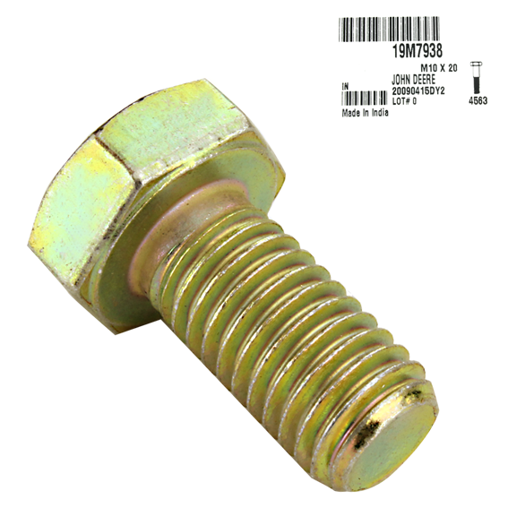 JOHN DEERE #19M7938 CAP SCREW