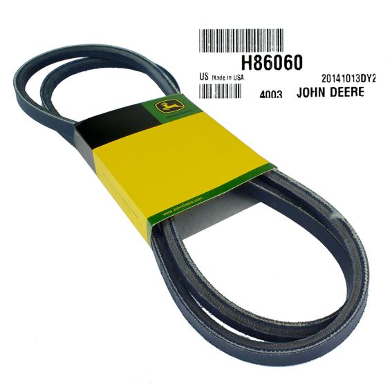 JOHN DEERE #H86060 V-BELT