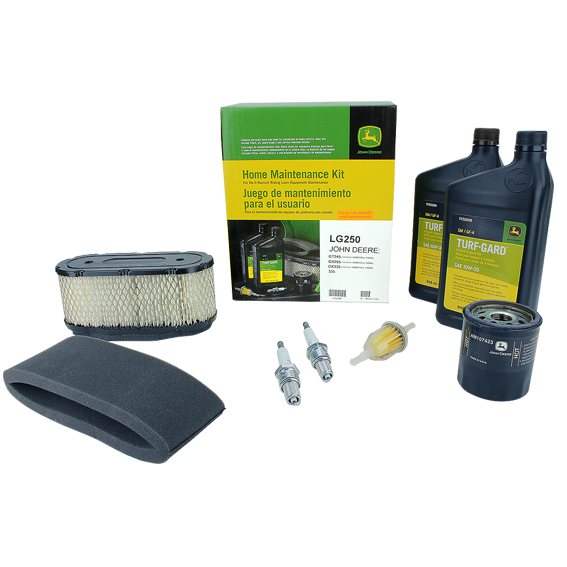 JOHN DEERE #LG250 HOME MAINTENANCE KIT FOR 335, GT245, GX255, GX335
