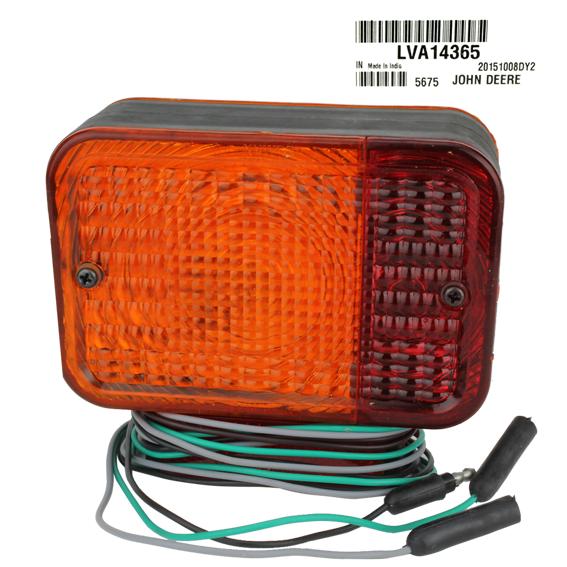JOHN DEERE #LVA14365 WARNING / TAIL LIGHT