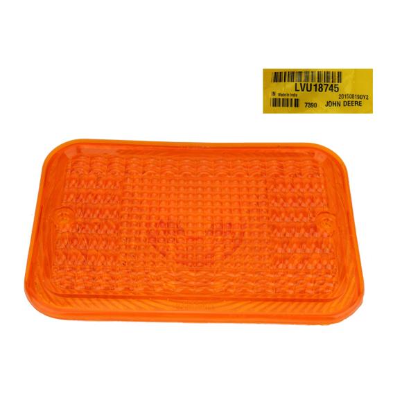 John Deere #LVU18745 Amber Light Lens