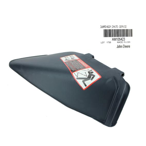 JOHN DEERE #AM105423 MOWER DECK DISCHARGE CHUTE