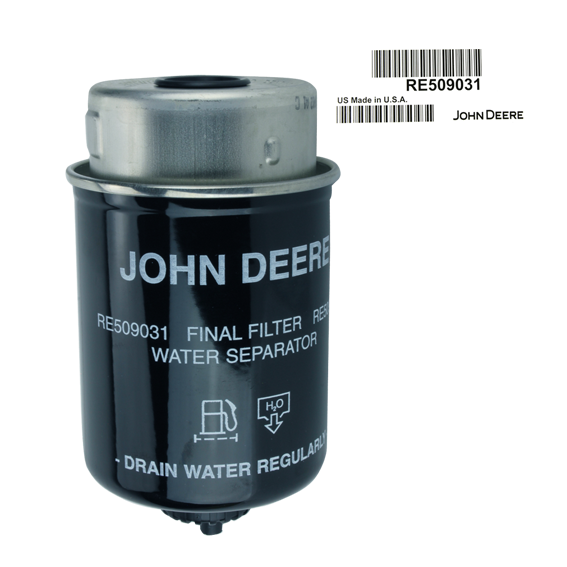 JOHN DEERE #RE509031 FUEL FILTER ELEMENT
