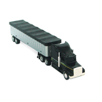 Ertl John Deere 1:64 Scale Semi With Grain Trailer