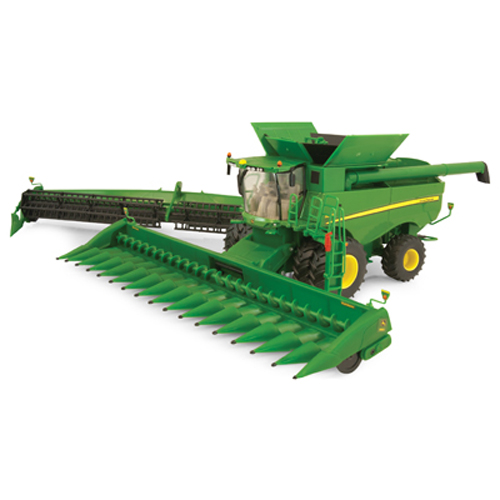 ERTL JOHN DEERE 1:32 SCALE S690 COMBINE WITH HEADS