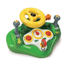 ERTL JOHN DEERE LIGHTS & SOUNDS BUSY DRIVER TOY