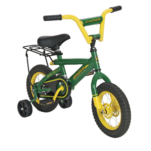 ERTL JOHN DEERE 12 INCH BICYCLE