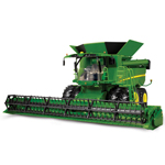 Ertl Big Farm John Deere 1:16 Scale Model S670 Combine
