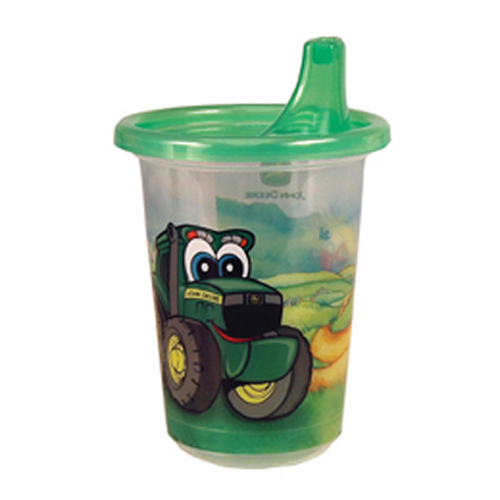 TOMY JOHN DEERE TAKE & TOSS SIPPY CUP 3 PACK - 10 OZ