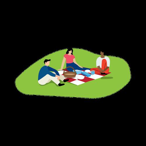 Parks and reserves illustration