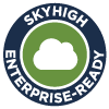 Skyhigh Enterprise-Ready cloud services fully satisfy the most stringent requirements for data protection,                                     identity verification, service security, business practices, and legal protection.