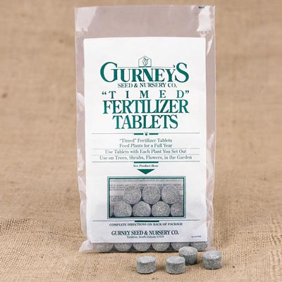 Gurney's® T-I-M-E-D Fertilizer Tablets