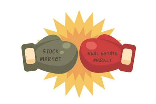 Investing in Stocks Vs Buying a House for Asset Growth