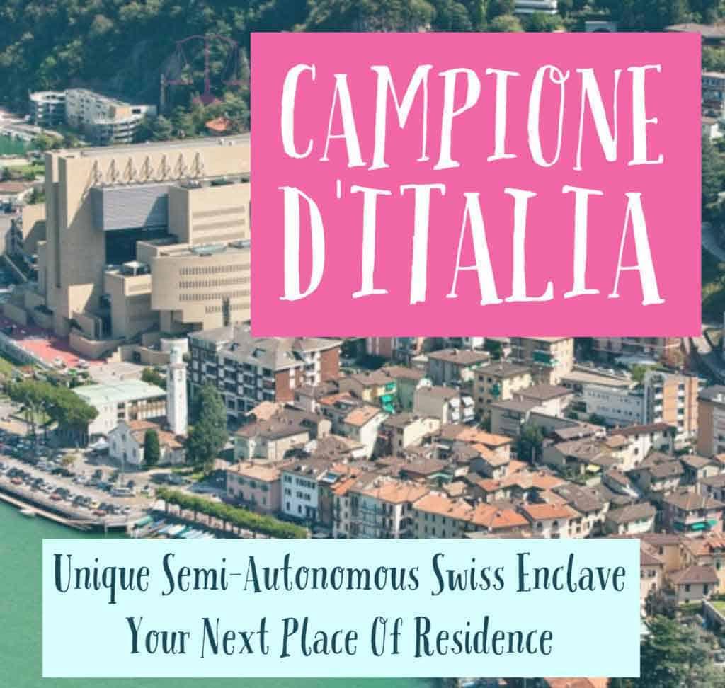 Living in Campione d'Italia