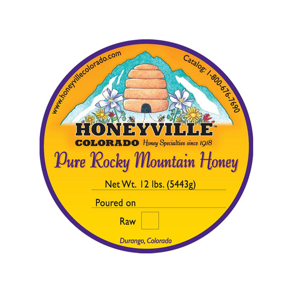 BUCKET: 12 LB WILDFLOWER HONEY