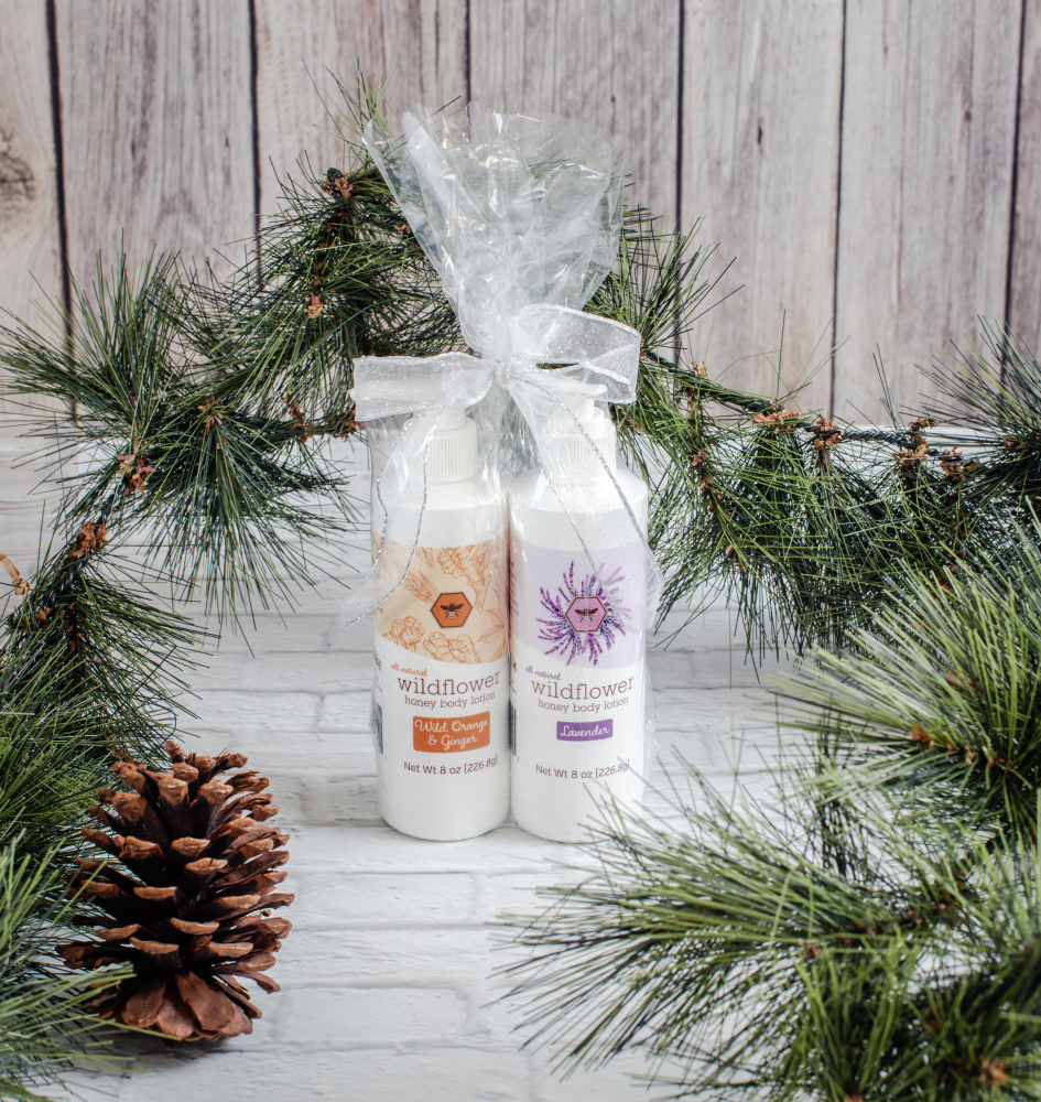 GIFT:  TWO 8 OZ BODY LOTIONS