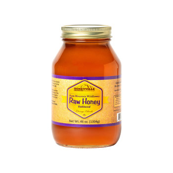 Product Image of RAW HONEY:  46 OZ GLASS