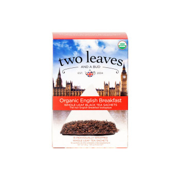 TEA: TWO LEAVES ORGANIC ENGLISH BREAKFAST