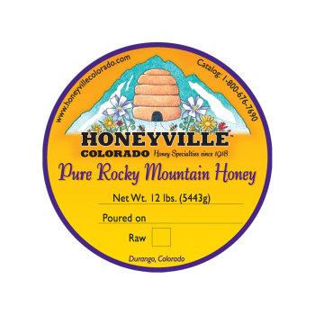 Product Image of BUCKET: 12 LB WILDFLOWER HONEY