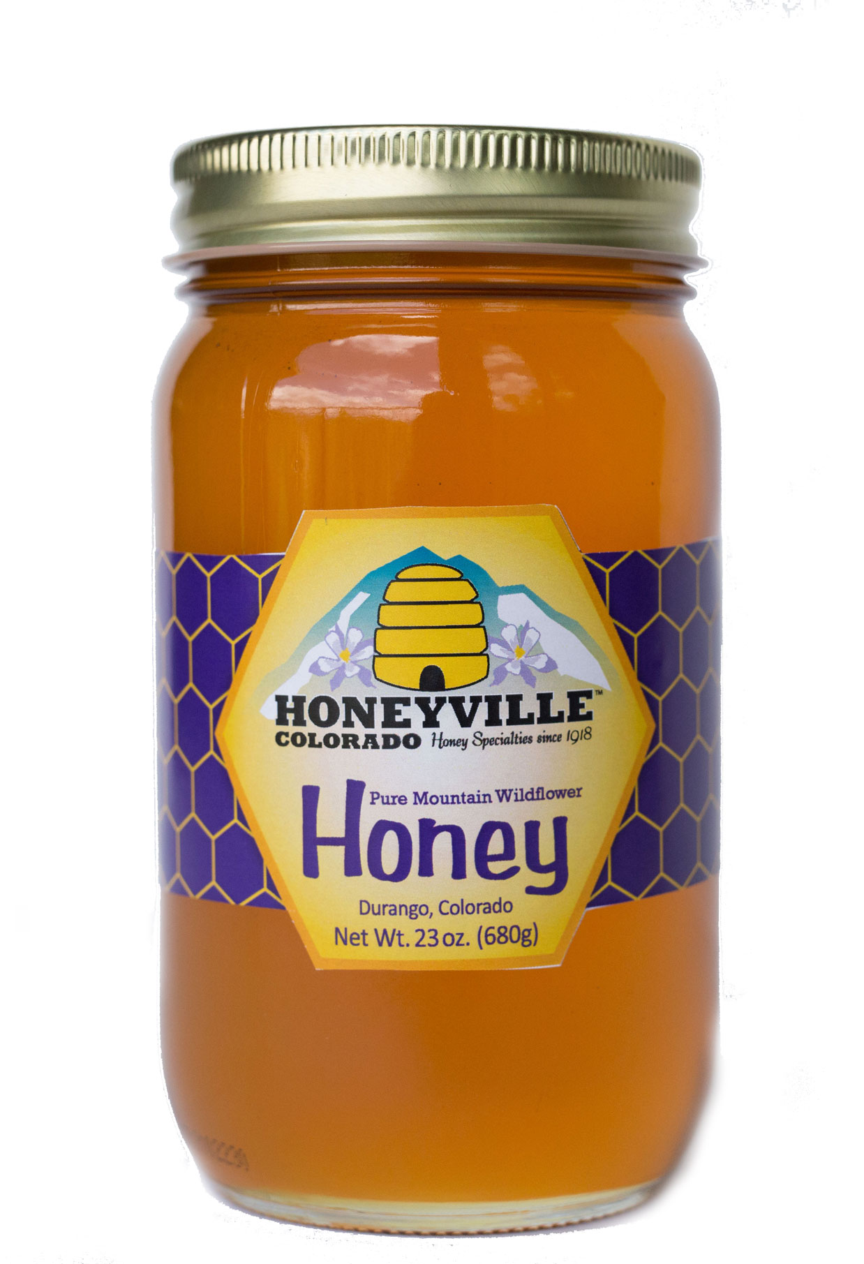 MOUNTAIN WILDFLOWER HONEY 23 oz