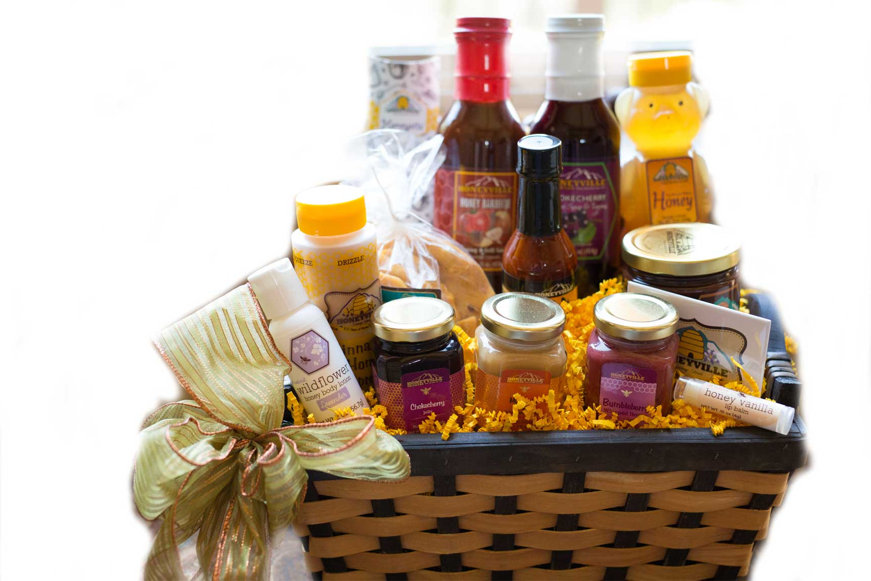 SWEET HONEYVILLE GIFT BASKET