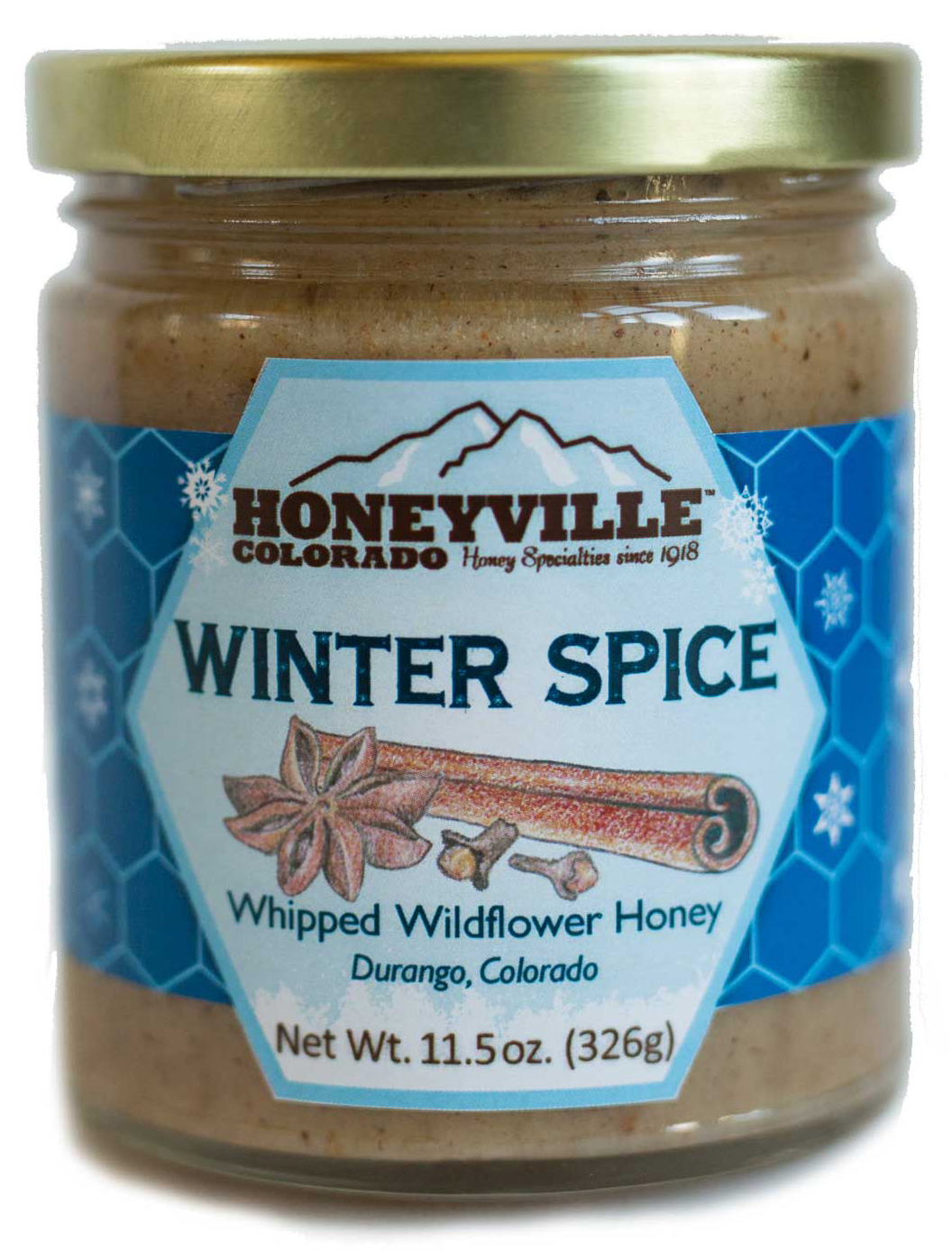 WINTER SPICED WHIPPED HONEY