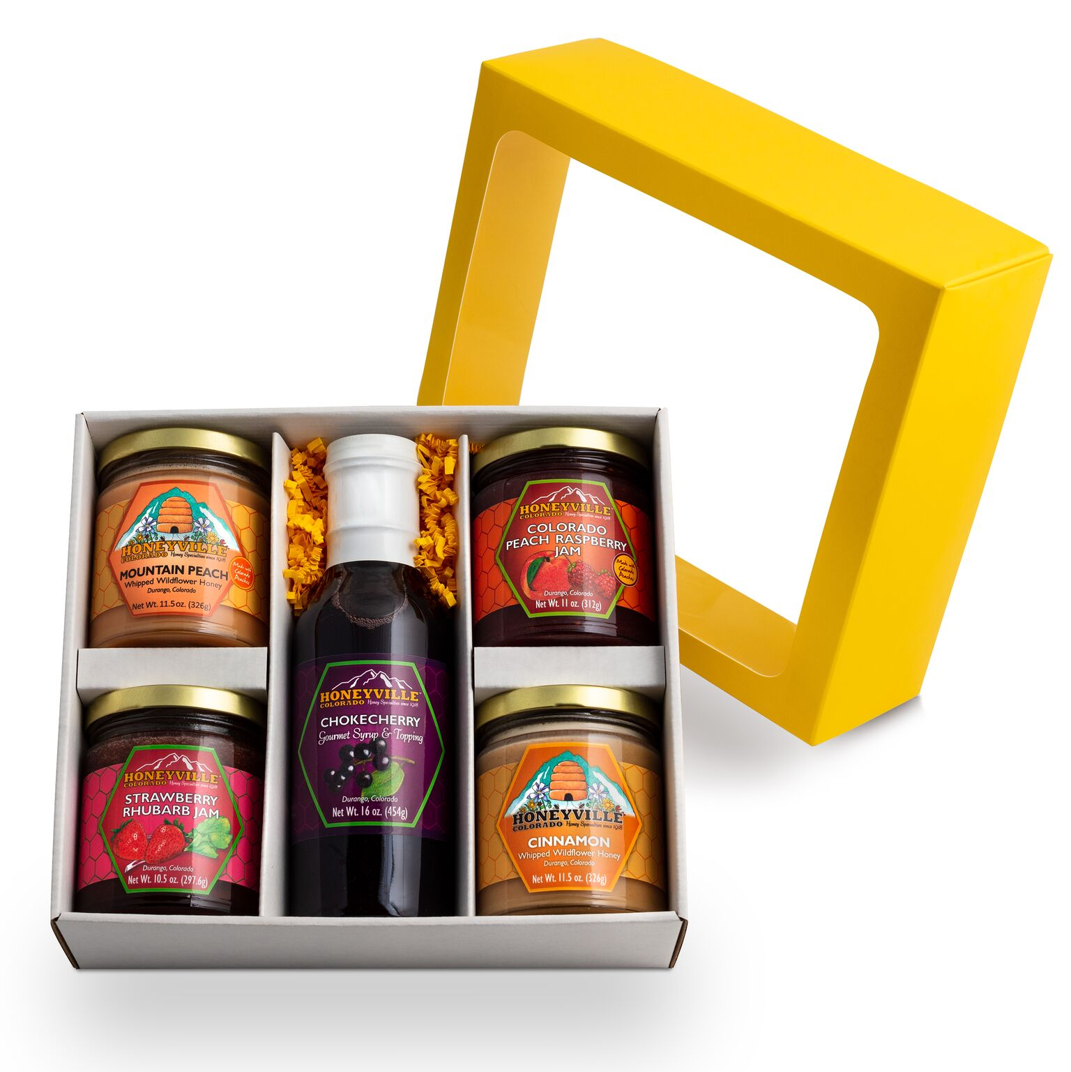 "GIFT BOX:  PICK 5 ""TASTE OF DURANGO"" W/ CHOKECHERRY SYRUP PLUS FOUR"