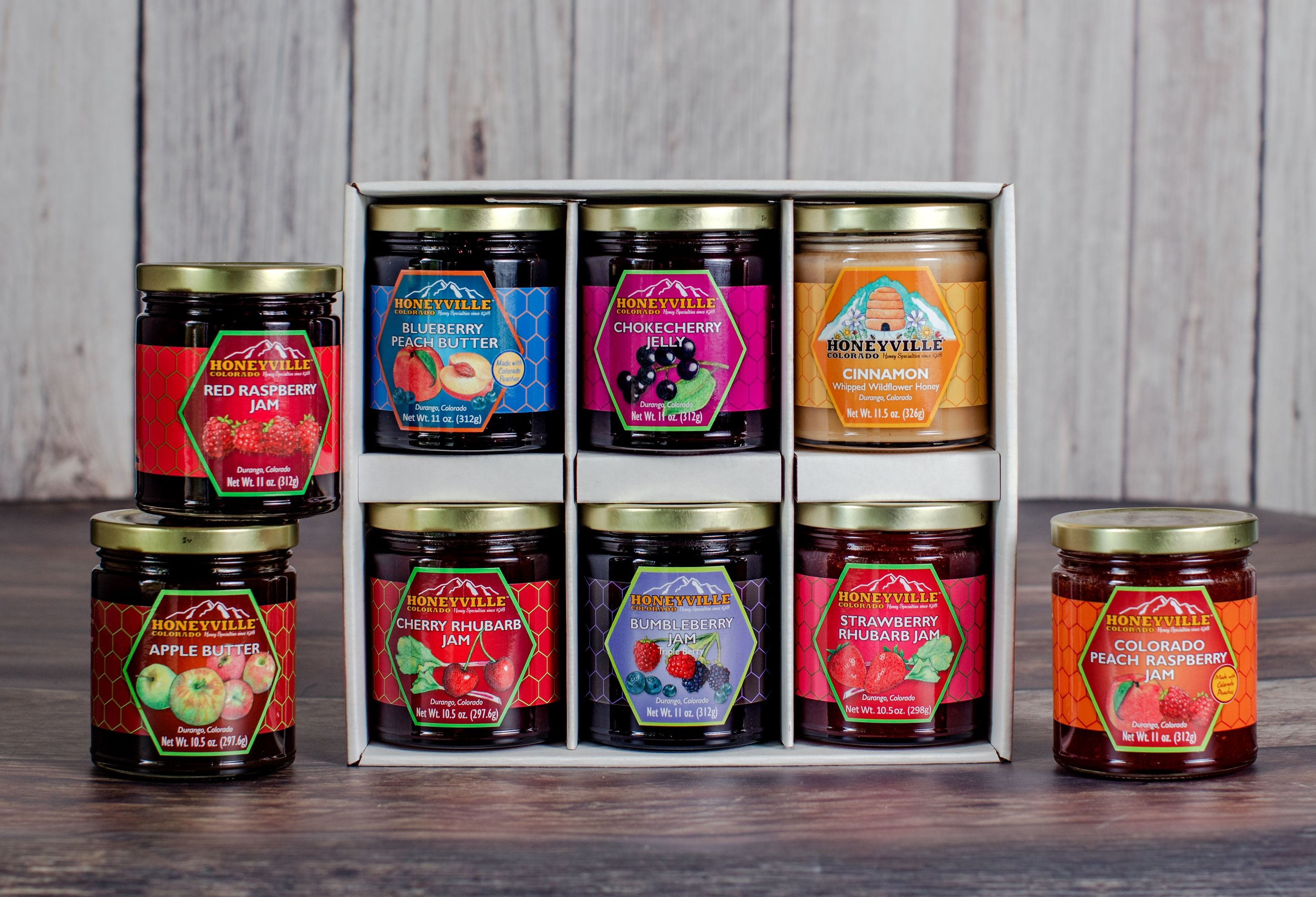 GIFT BOX: PICK 6 SIX JARS